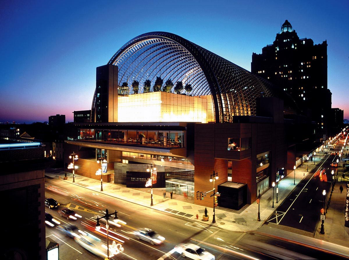 The kimmel center for the performing arts architectural for Architecture firms in philadelphia