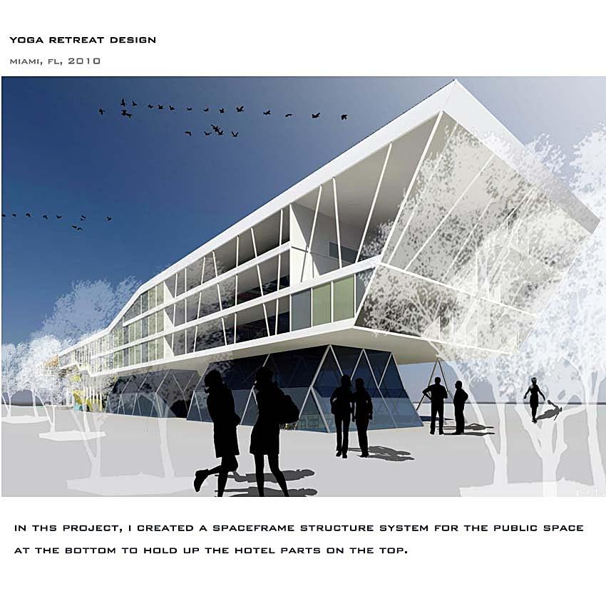 Yoga Retreat Center rendering
