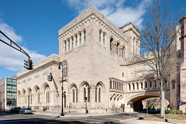 The Old Yale Art Gallery (1928). Credit- Bruce Buck for The New York Times