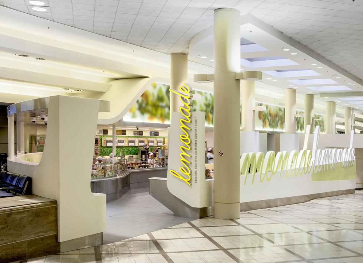 Lemonade at LAX T-5. Photo © Steve King
