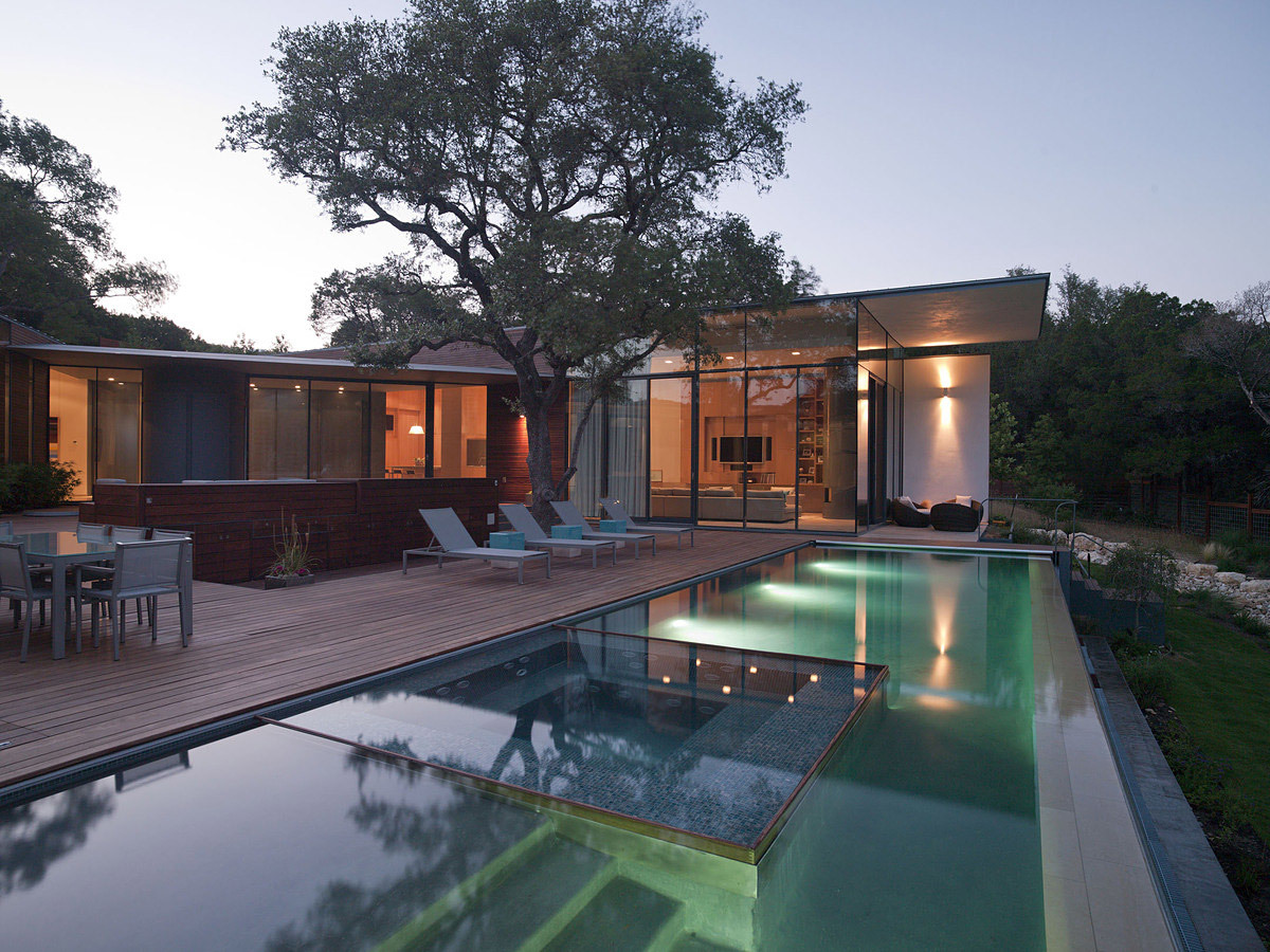 Cascading Creek Residence in Austin, TX by Bercy Chen Studio