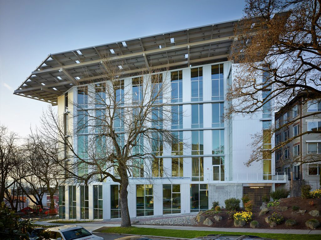 The Bullitt Center, a Net Zero Energy and Net Zero Water office space, just opened in Seattle