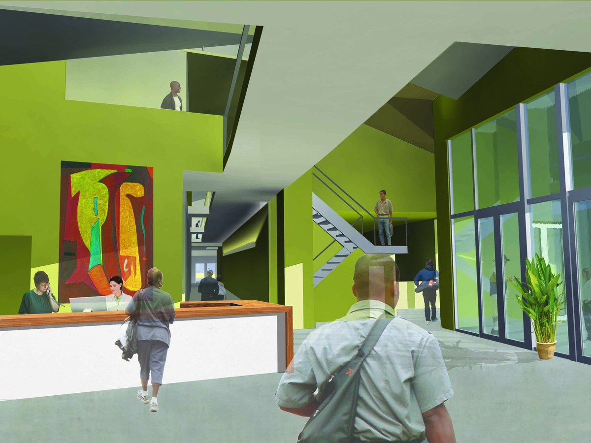 Capslo homeless service center gwynne pugh urban studio for Architecture firms san luis obispo