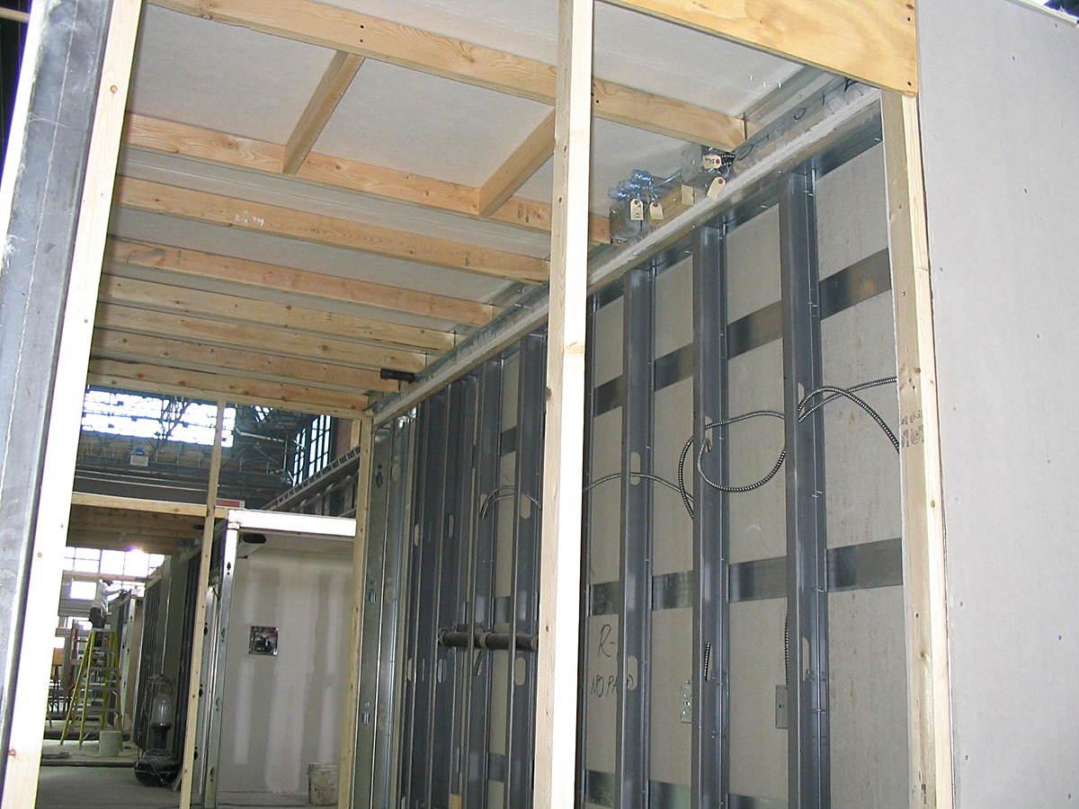 Framing during construction