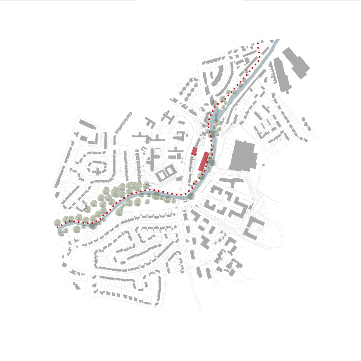 Site Map w/Dodder Park