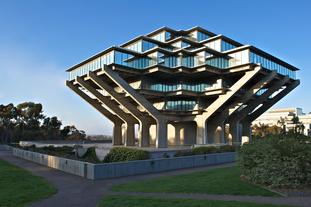 more images ↓: archinect.com/katherine/project/geisel-library