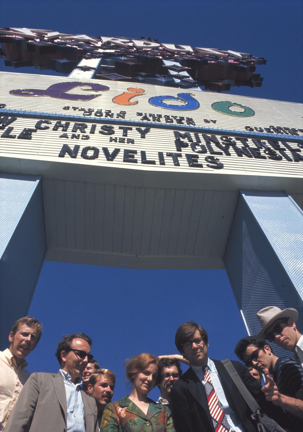 Studio members at the Stardust. Credit: Venturi, Scott Brown and Associates, Inc.