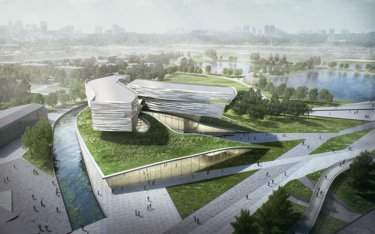 Wuzhong Museum. Image by Studio Link-Arc, LLC
