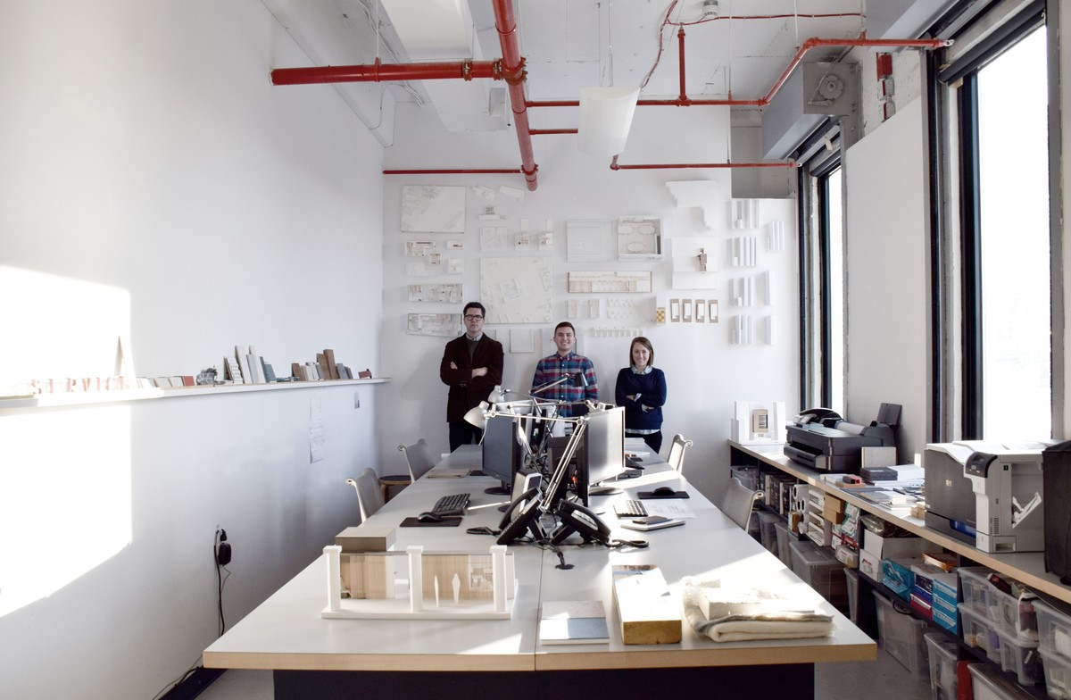The Studio Modh team. Image via Studio Modh