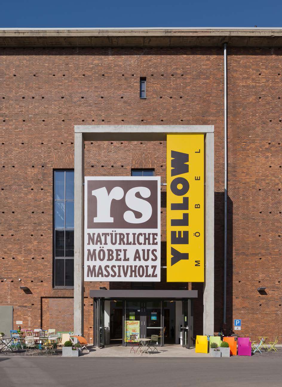 RS+Yellow Furniture Outlet. Photo by Olaf Mahlstedt. © BOLLES+WILSON