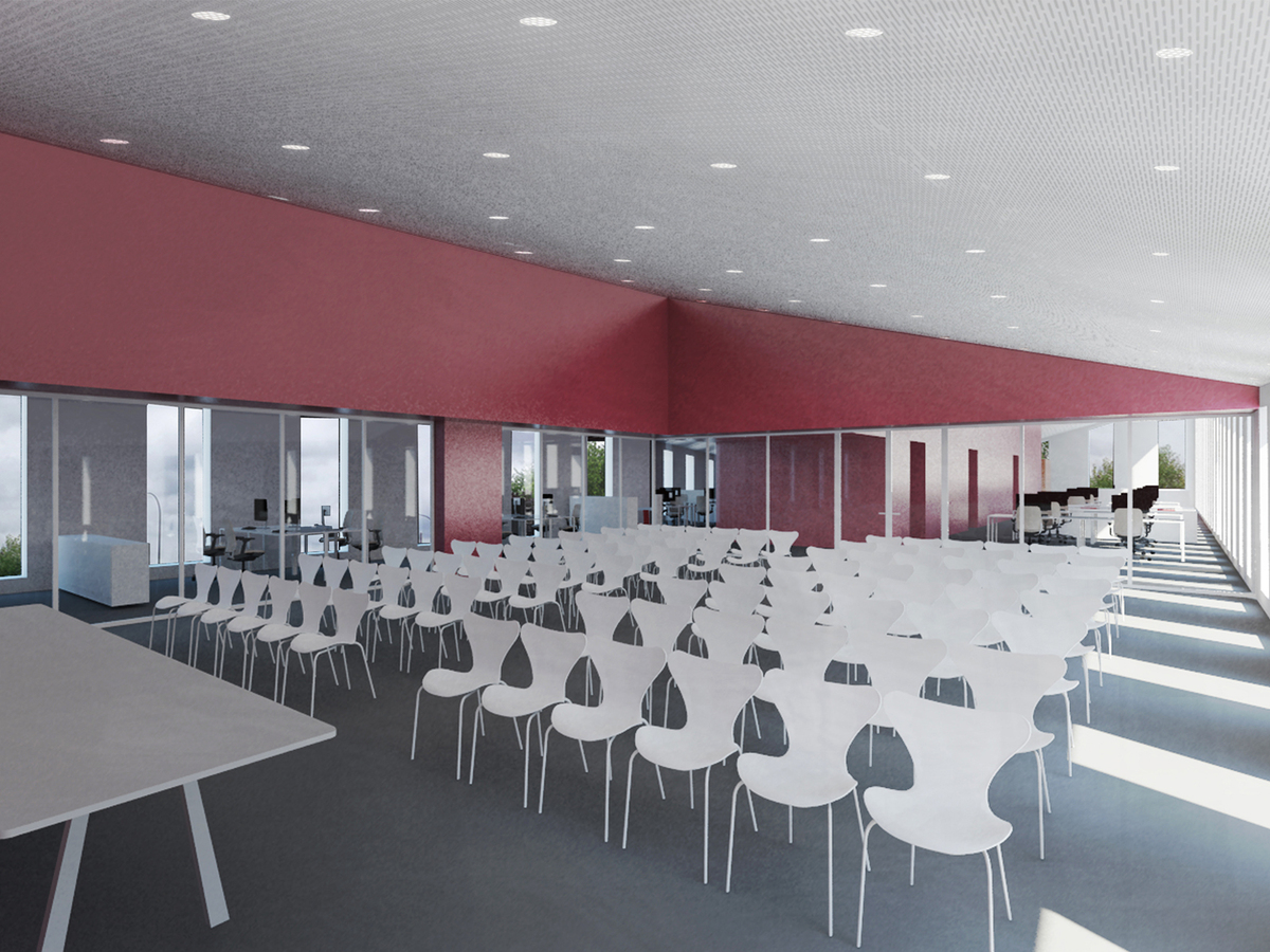 Interior view meeting room