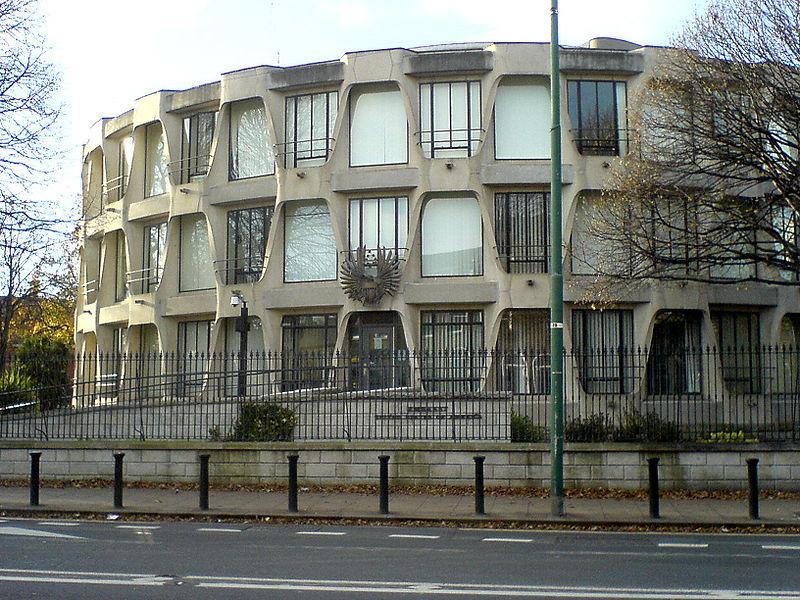 American Embassy - Dublin by John MacLane Johansen