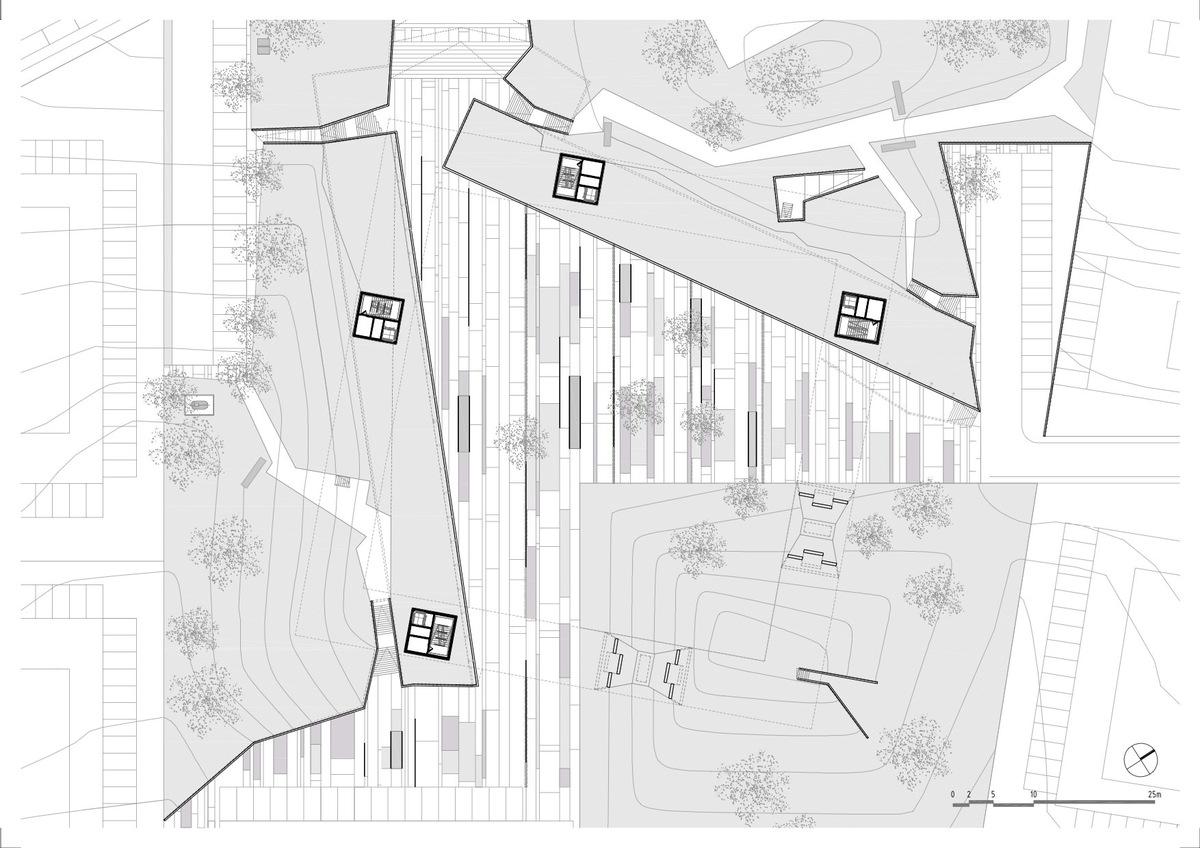 Intermediate floor plan, courtesy of Jorge Mealha
