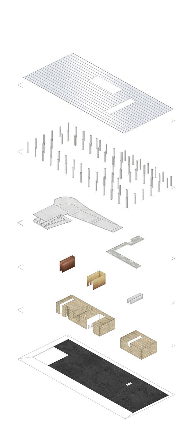 Interiors GF Materialization. © OMA