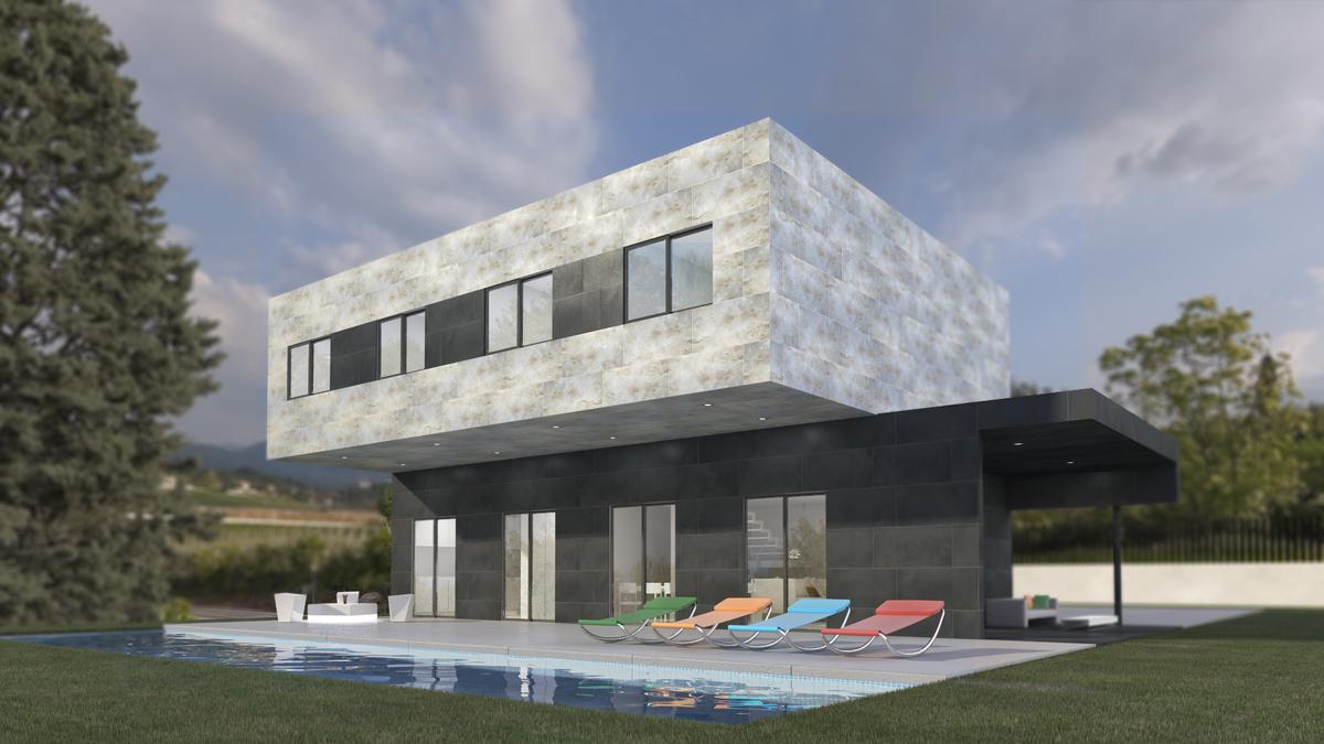 Casas ecol gicas prefabricadas modelo 5a miguel - Casas prefabricadas ecologicas ...