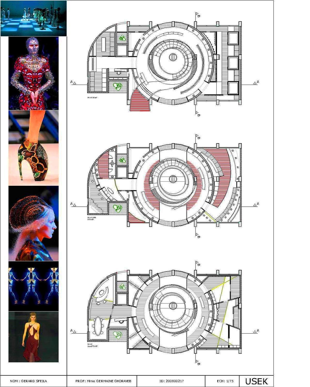 Alexander Mcqueen Fashion House Gerard Sfaila Archinect
