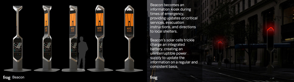 Visual Design Award: Beacon by frog design (Courtesy NYC Mayors Office)