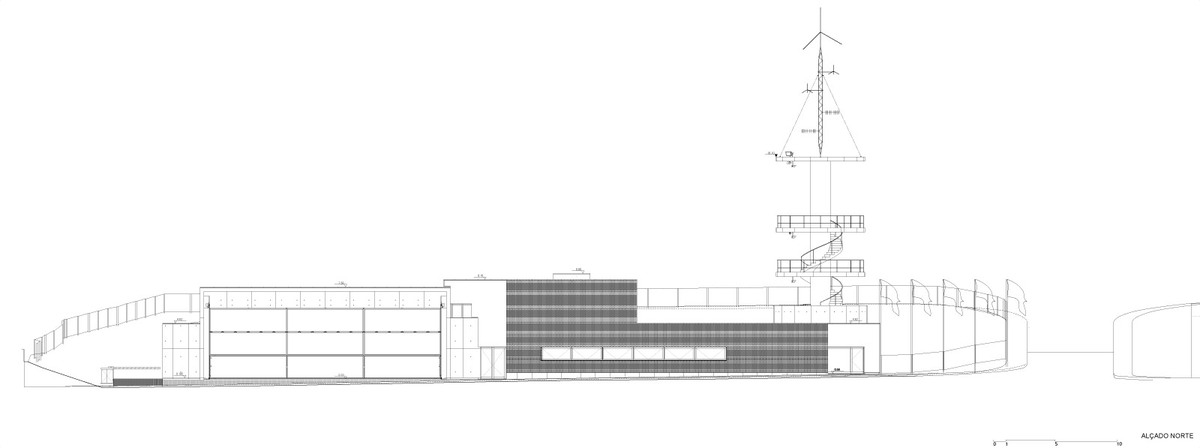 Elevation North (Image: Álvaro Siza Vieira)
