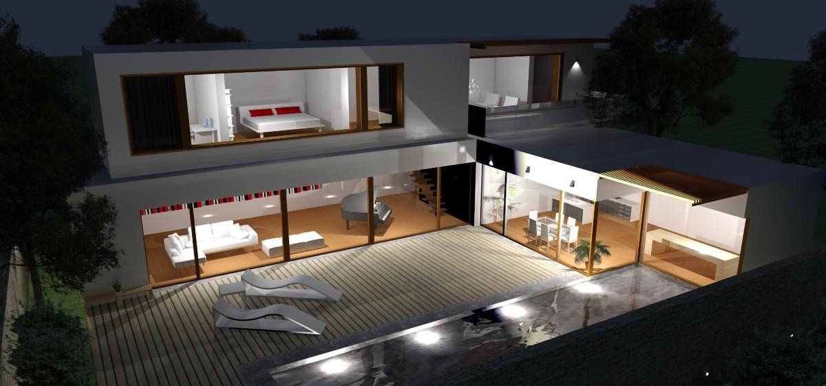 L House Yael Getz Schoen Archinect