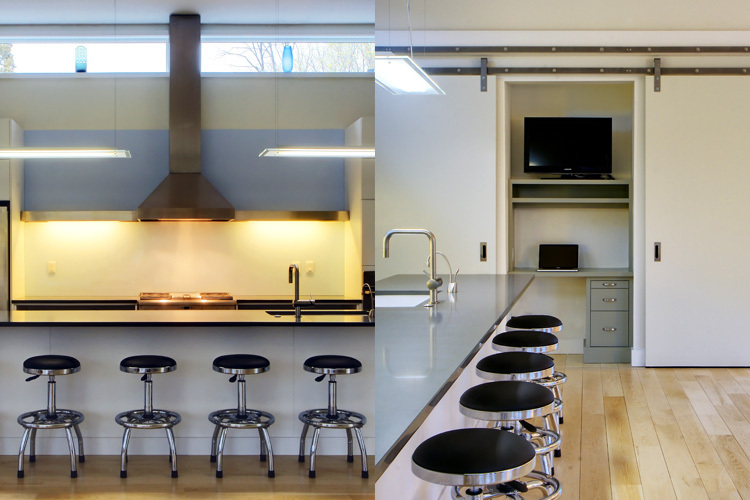 Prairie House Kitchen. Photo: T.G. Olcot