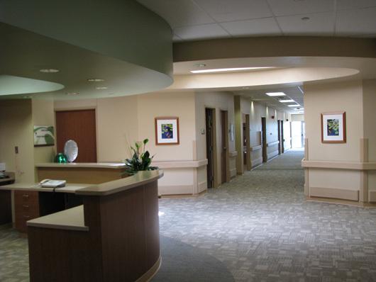 Nursing station at Story County Medical Center