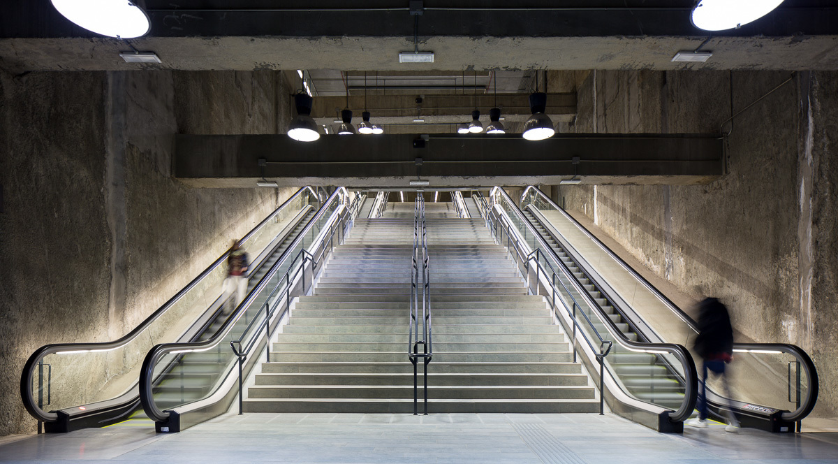 in focus simón garcía features archinect underground l9 by garcés de seta bonet architects