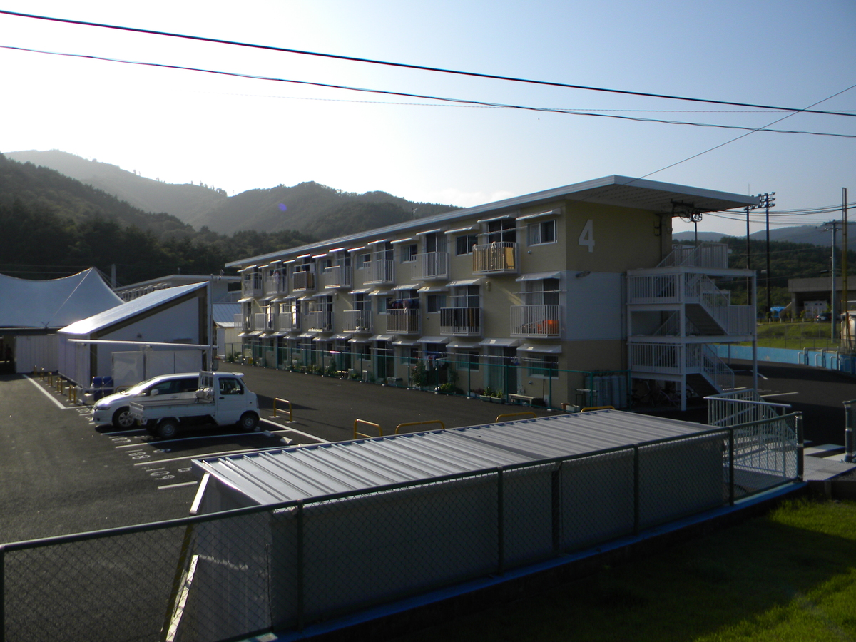Onagawa Temporary Housing1 - Shigeru Ban + Voluntary Architects Network + MUJI