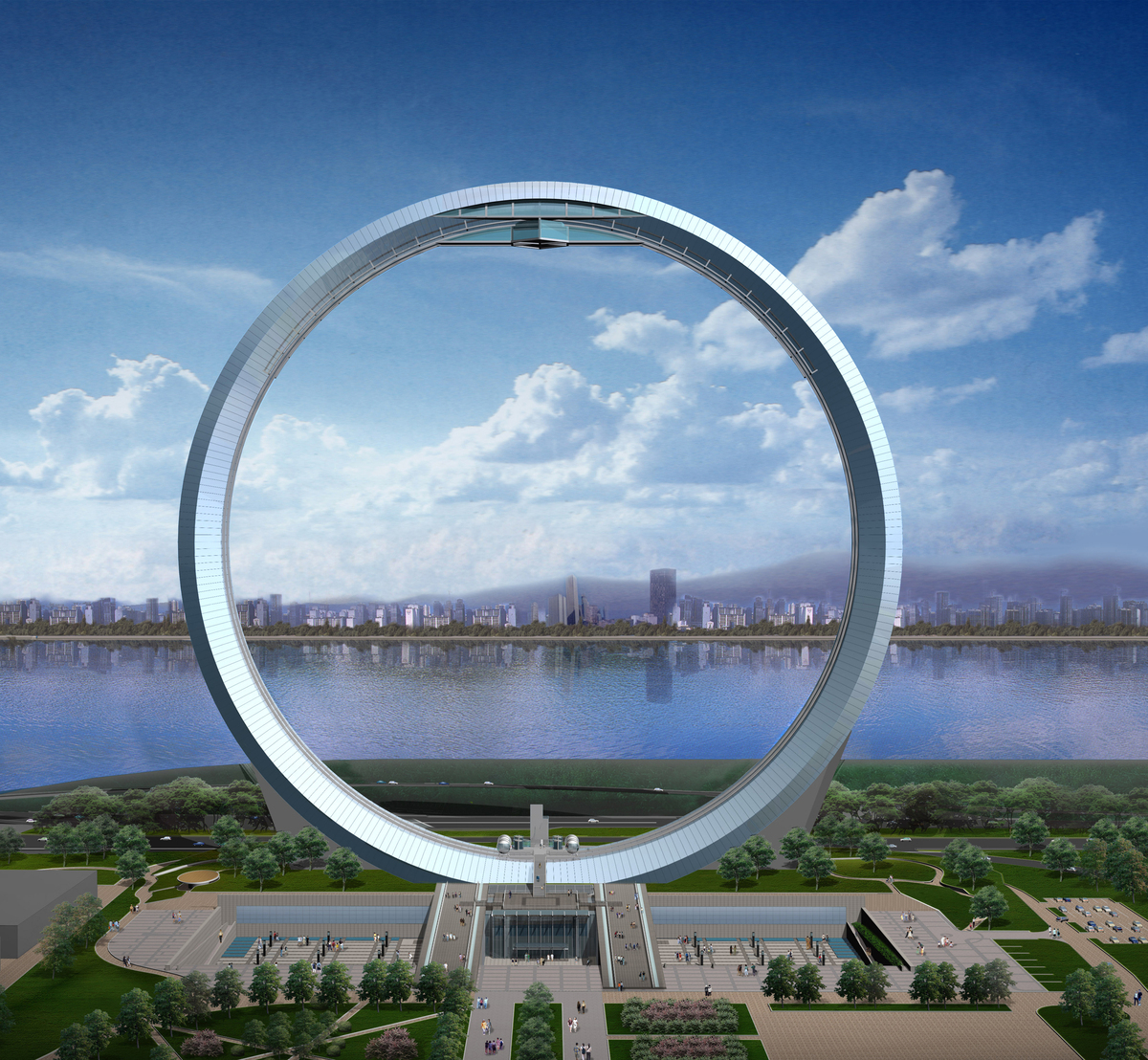 Millennium Gate Gideon Kwon Archinect