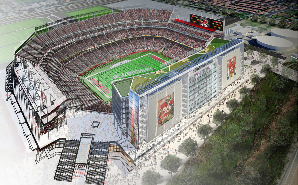 49er's Stadium and BIM (image copyright: Joseph Xiong)