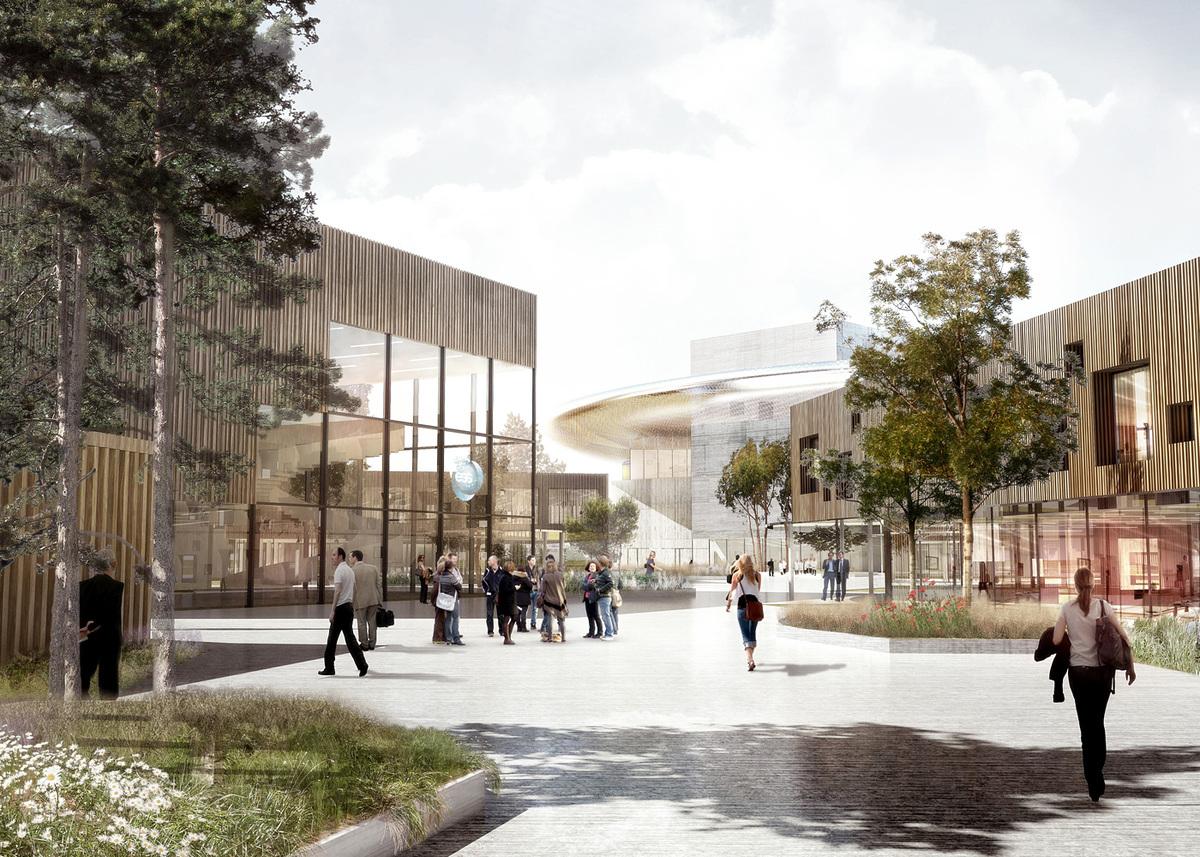 Exterior rendering (Image: Henning Larsen Architects)