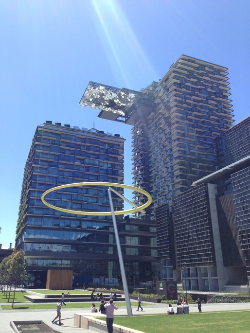 Ateliers Jean Nouvel's Chippendale Green Development building in Sydney via 5468796 Architecture