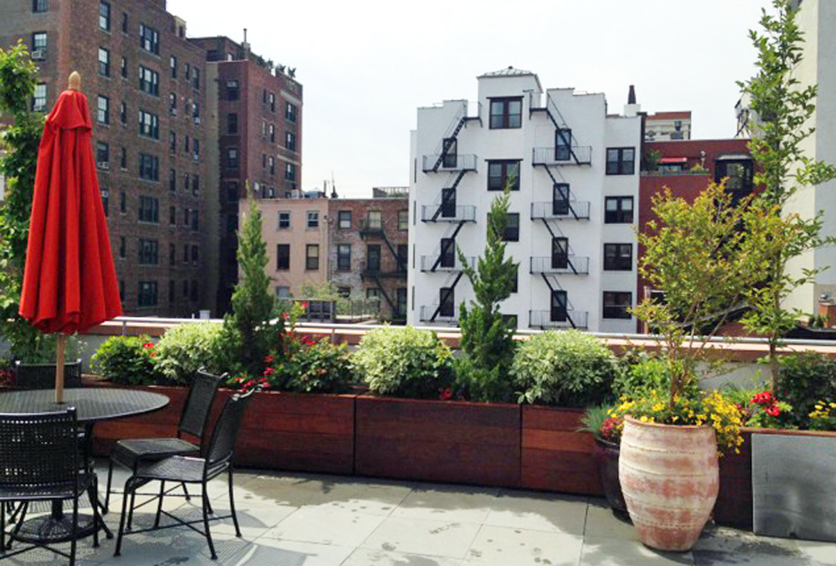 Brooklyn nyc backyard patio and rooftop terrace garden for Garden design brooklyn