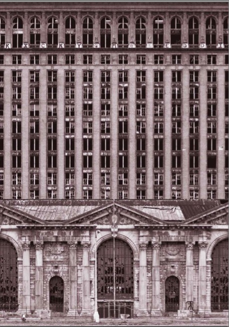 Michigan Central Station, Detroit, 2007. Yves Marchant and Romain Meffre
