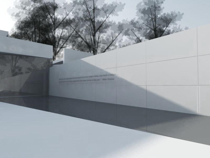 reflecting pool rendering 2