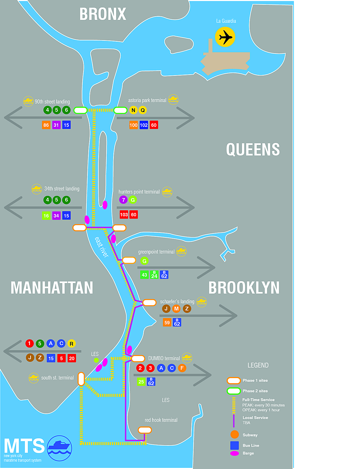 East River Ferry Map World Map 07