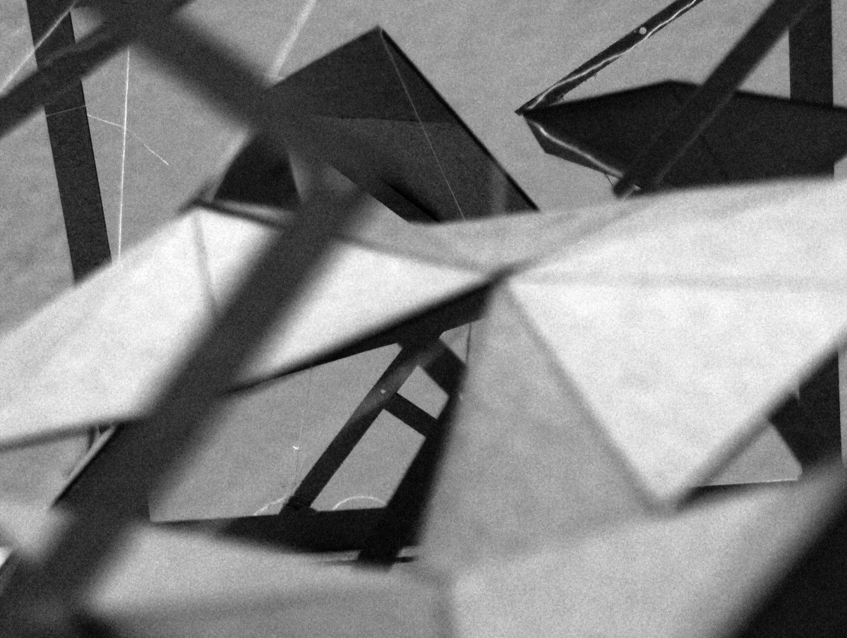 Study Model- Folding Tensegrity-Space & Circulation