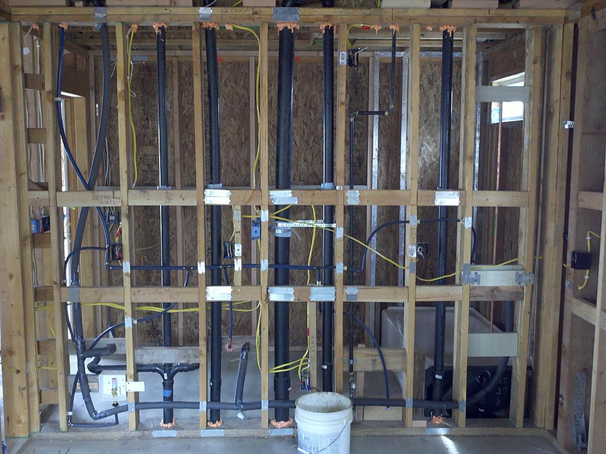 Plumbing, and Framing