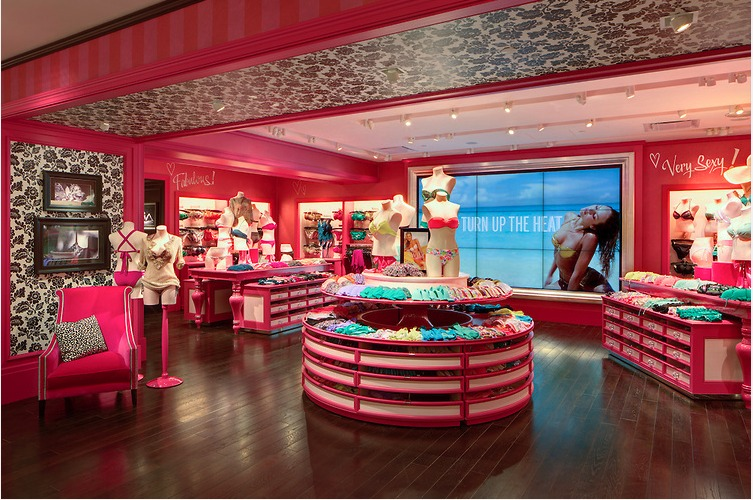 Victorias Secret Store Design Ayesha Khan Archinect