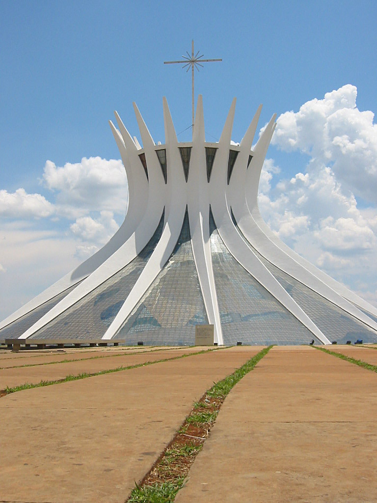 Cathedral of Brasília, Brasília, dedicated 1970