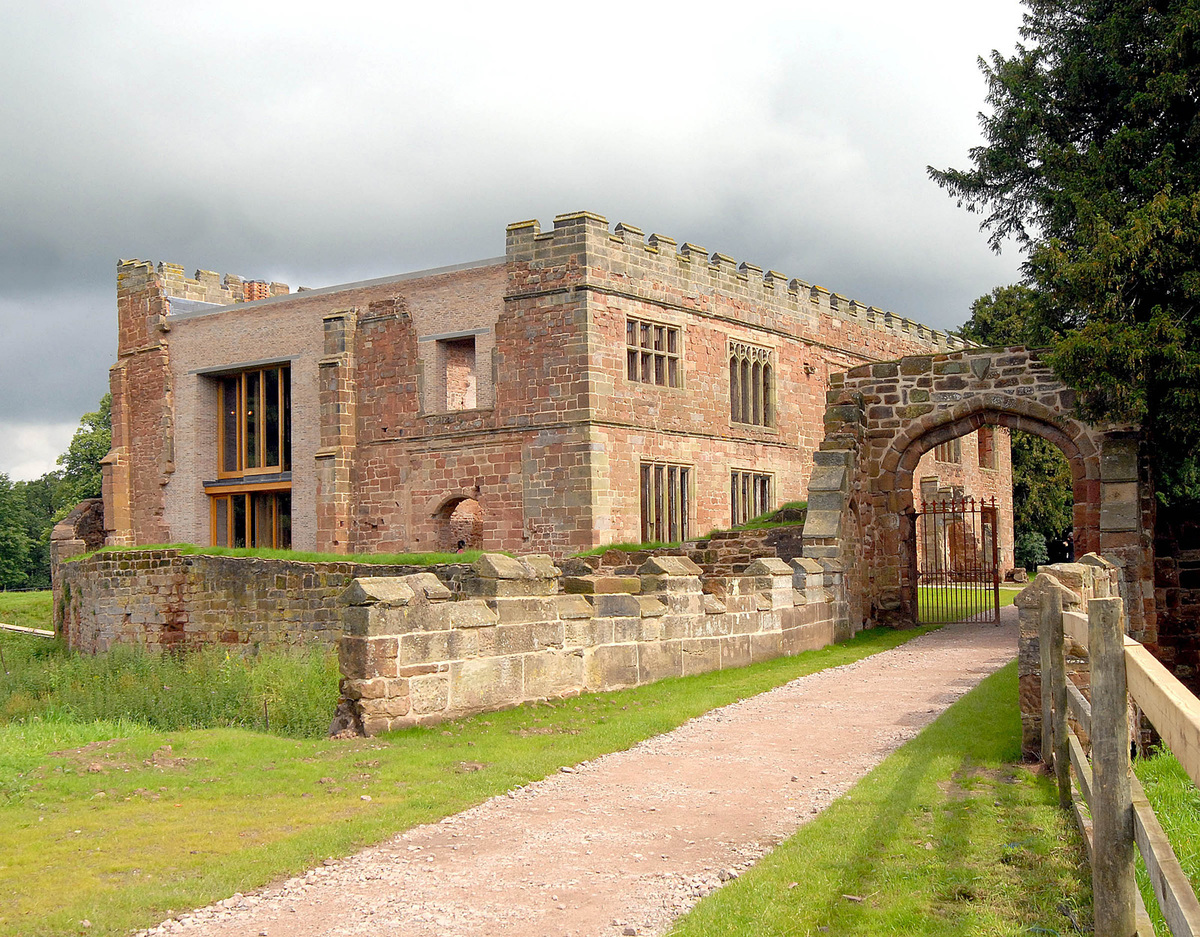Astley Castle, Warwickshire by Witherford Watson Mann Architects; Photo: Landmark Trust