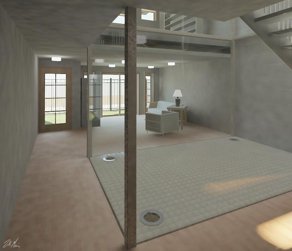 First Floor Hallway - Interior View