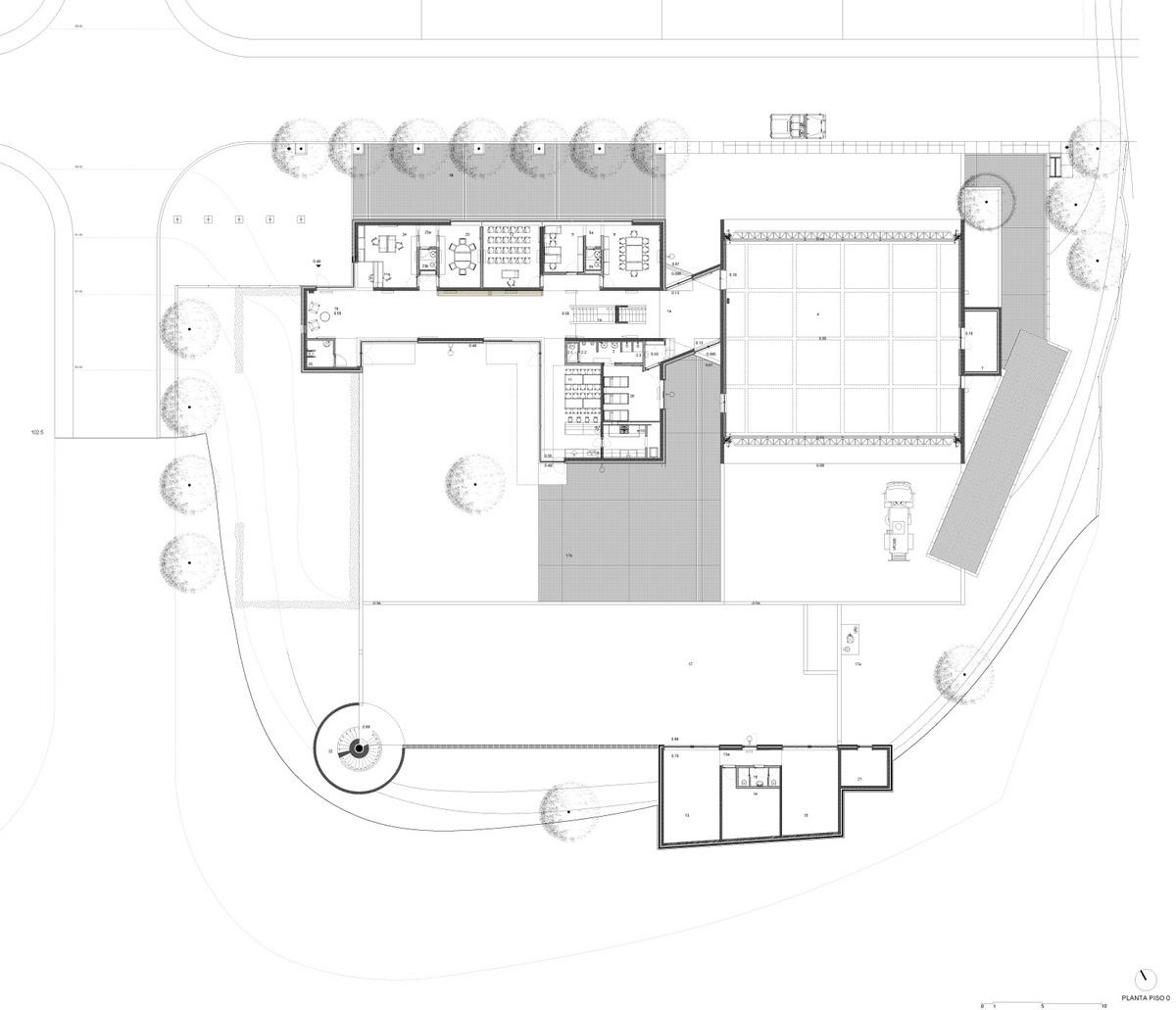 Floor plan 00 (Image: Álvaro Siza Vieira)