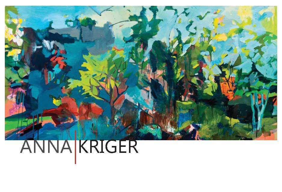 Post Card: Anna Kriger (painting by Anna Kriger)