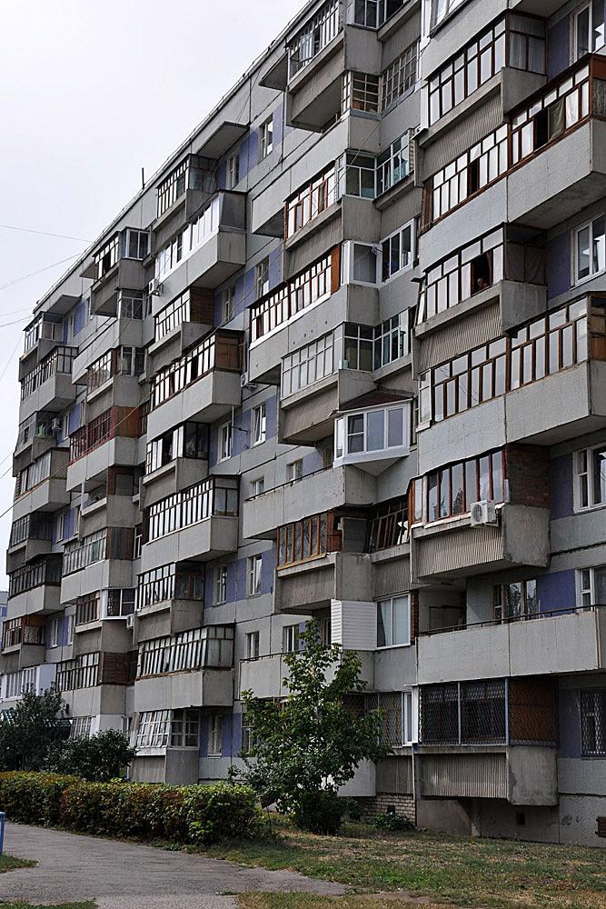 New Tolyatti: Façade variations aggregate.