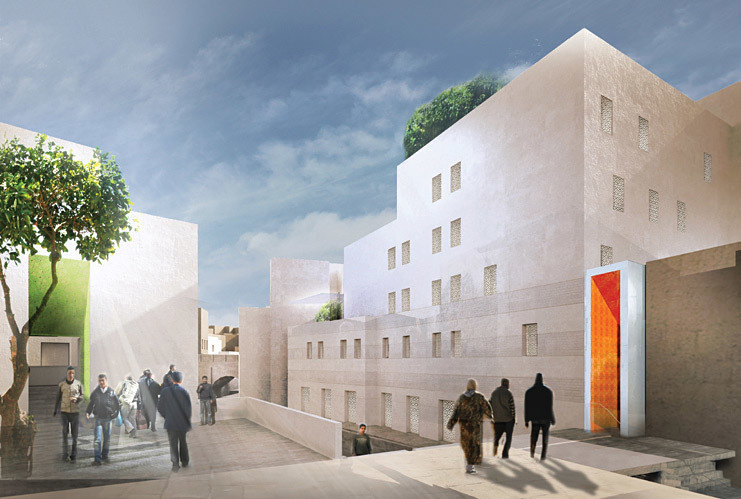 Mossessian & Partners, with Place Lalla Yeddouna, Fez, Morocco