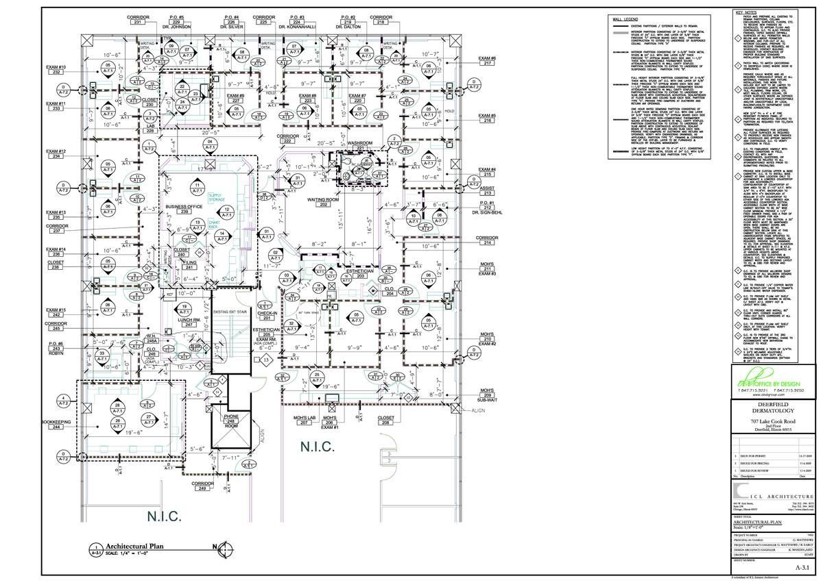 Deerfield dermatology gary matthews archinect for Interior design staffing agency chicago