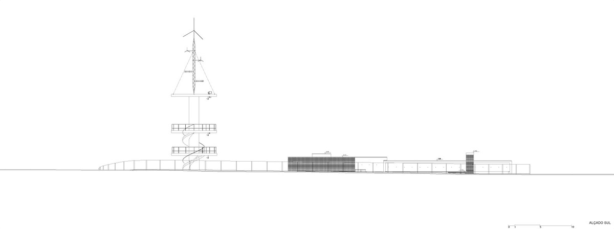 Elevation South (Image: Álvaro Siza Vieira)