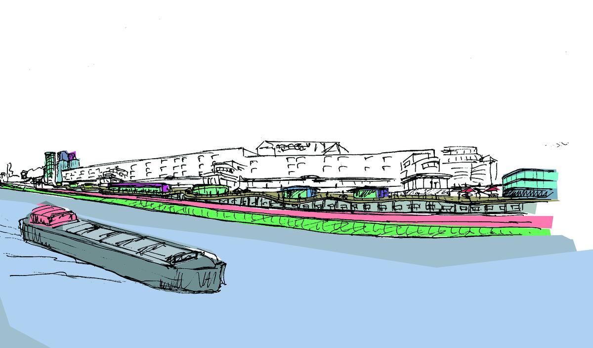 Project Sambre river front