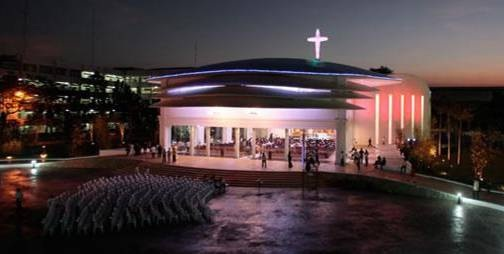 Project: Holy Angel University Chapel | Prodigy AE Incorporated ...