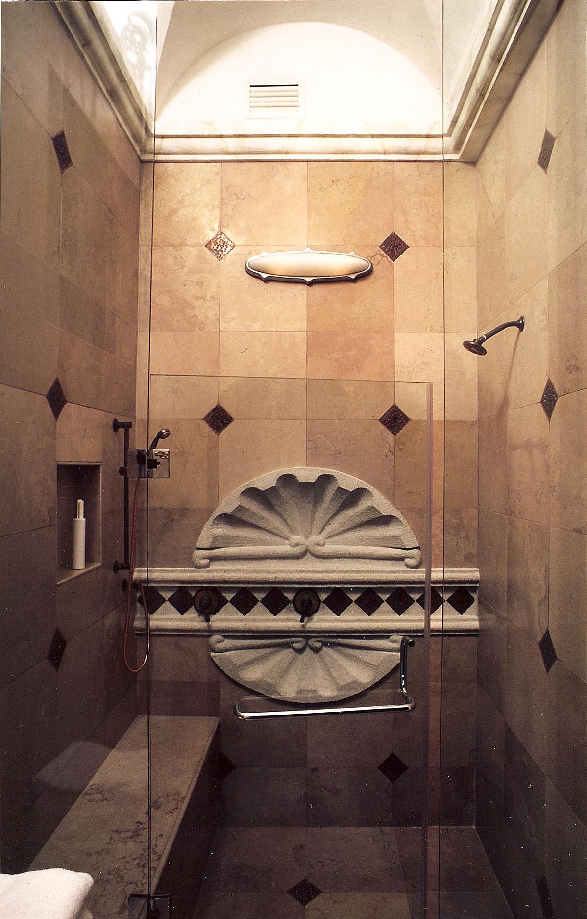 Master Bath portion